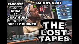 LOST TAPES #1 PAPOOSE, GRAFH, CORY GUNZ, GRAVY, CASHMERE, JAY MILLZ, SHELLS BURNER FREESTYLE!!!!