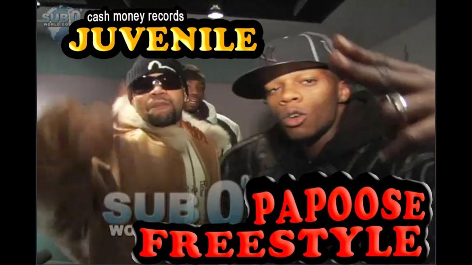 PAPOOSE FREESTLE Feat., JUVENILE!!