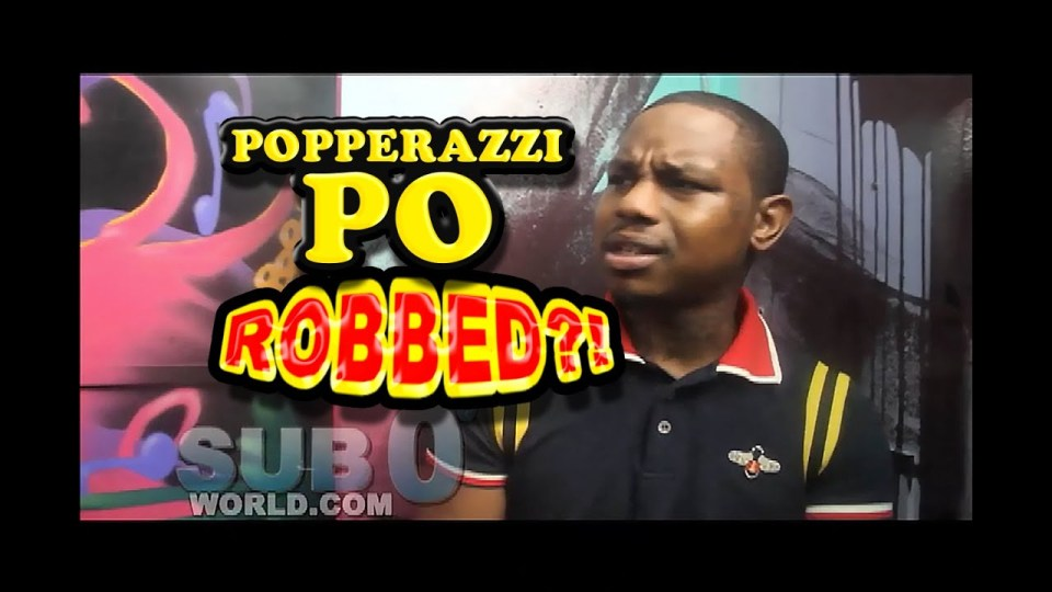 POPPERAZZI PO GETS ROBBED?!