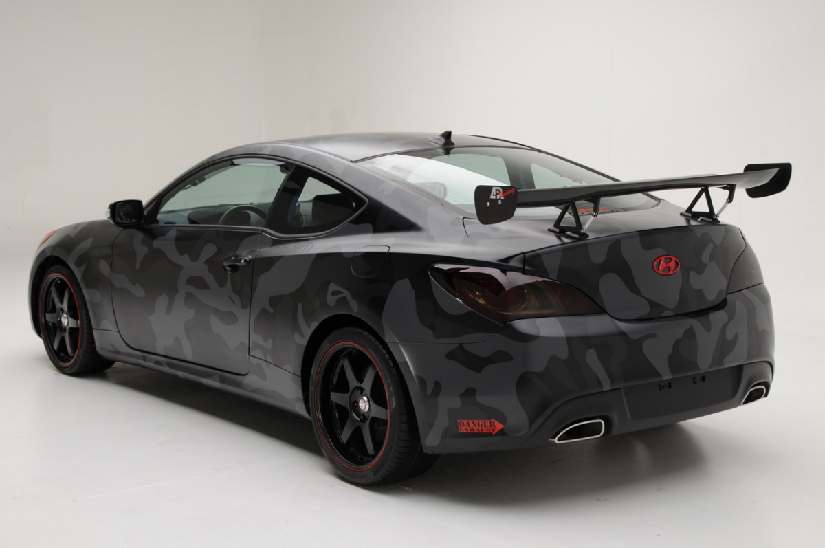 hight resolution of street concepts hyundai genesis coupe rear