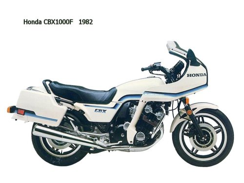small resolution of honda cbx1000f 1982 side view