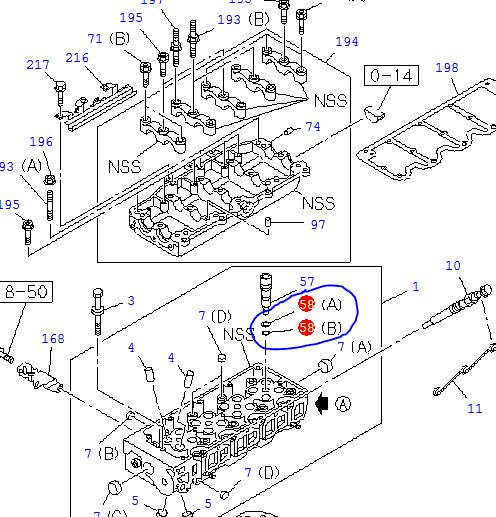 Injector Sleeve Seals – O-rings, Set