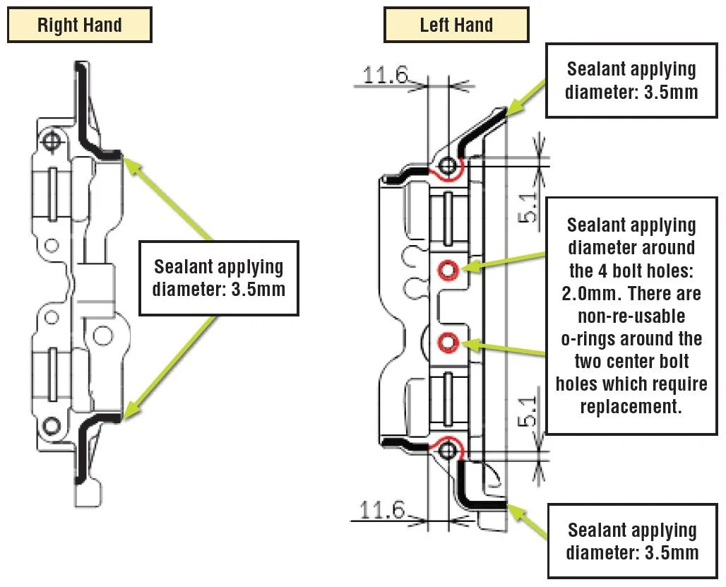 Oil Seepage Diagnosis and Repair Procedures