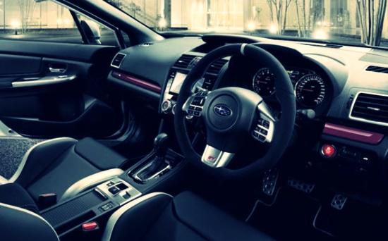2021 Subaru WRX Hatchback Interior