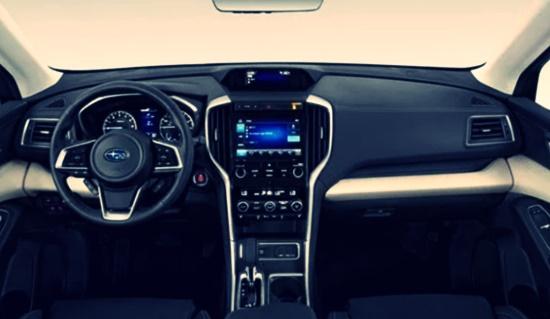 2021 Subaru Baja Pickup Truck Interior