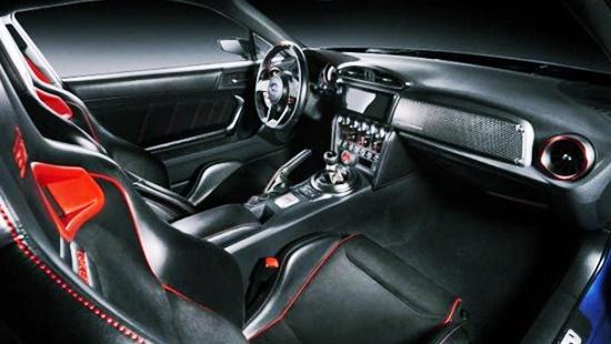 2020 Subaru BRZ Turbo Interior