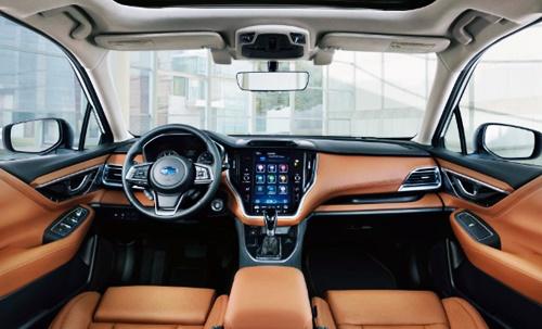 2021 Subaru Liberty Australia Interior