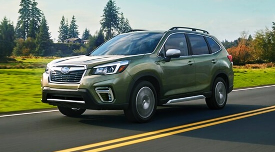 2021 Subaru Forester Touring Edition Price
