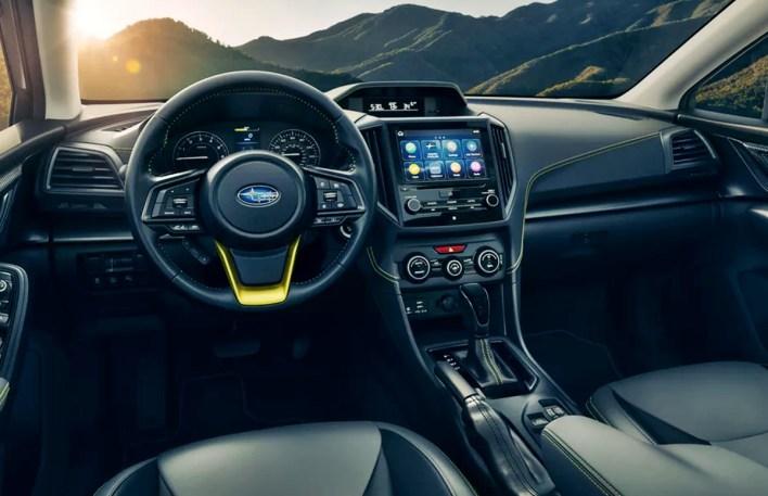 2022 Subaru Crosstrek Turbo Interior