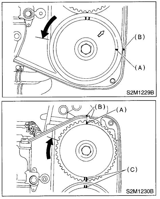 2002 subaru outback exhaust diagram jazzmaster wiring no rhythm circuit timing marks - imageresizertool.com