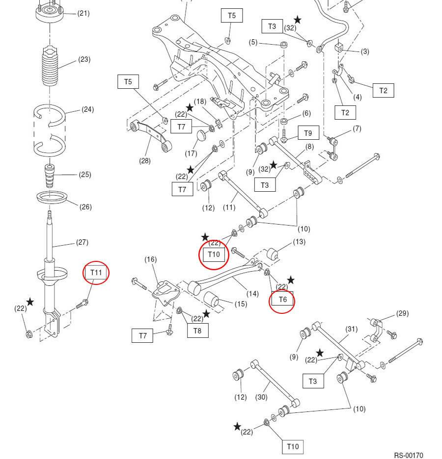 medium resolution of rear wheel bearing subaru sti diagram