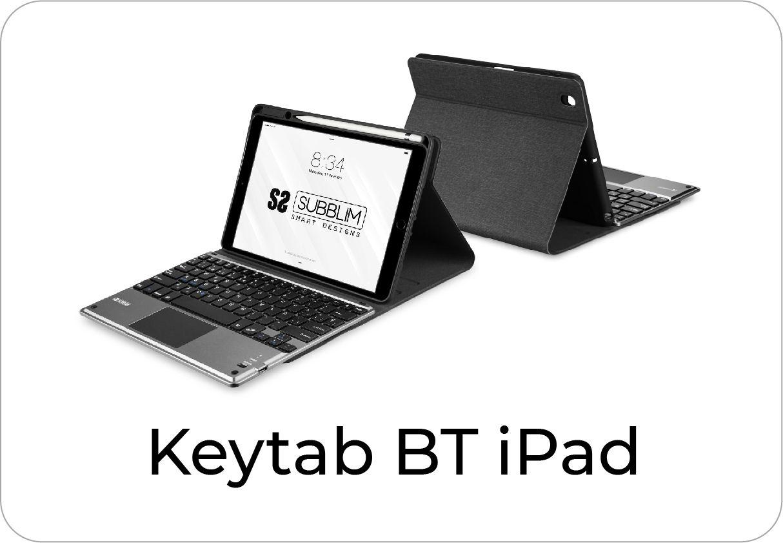 botón keytab Bluetooth para iPad