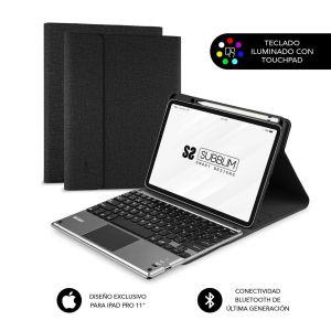 Keytab para iPad Pro 11 con touchpad y retroiluminación