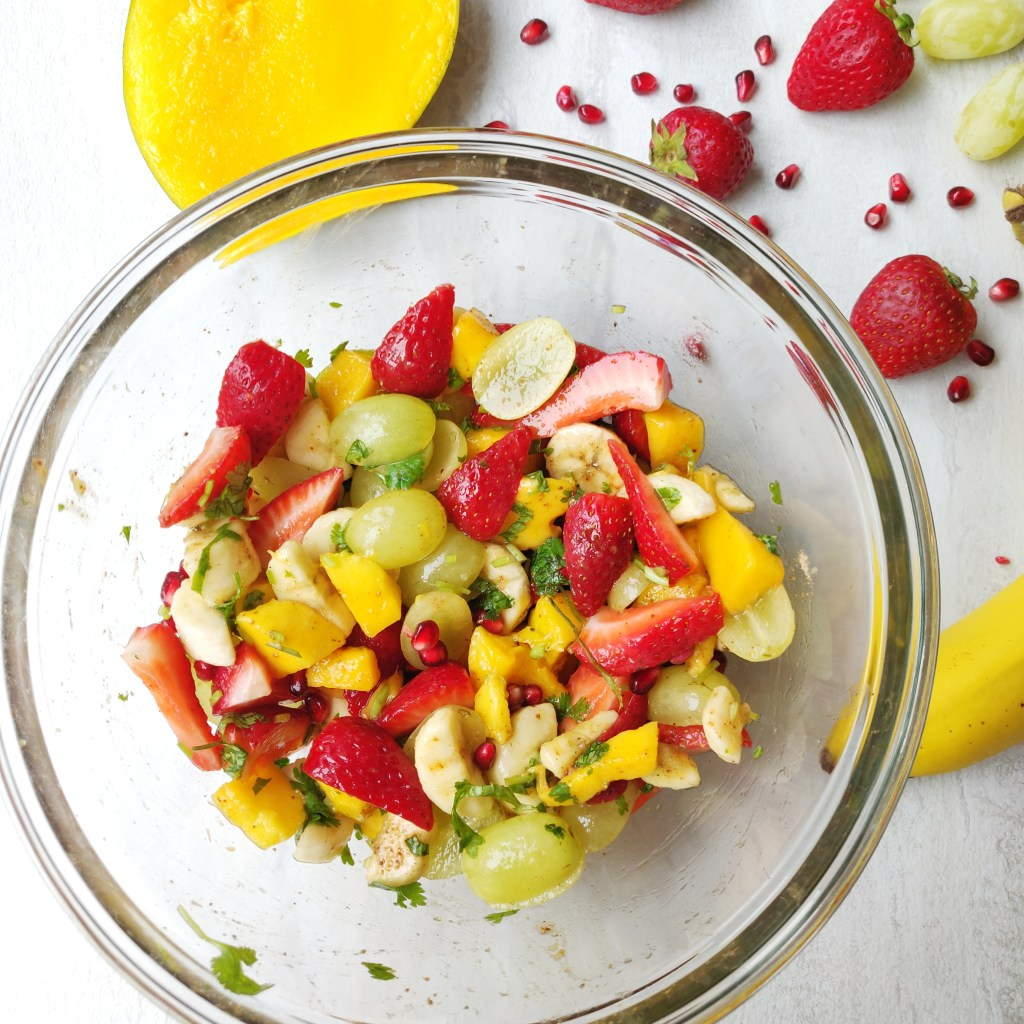 Healthy Fruit Salad Fruit Chaat Weight Loss Recipes Subbu Cooks