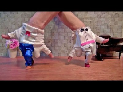 "Finger Breakdance ""with Piano play"" フィンガーブレイクダンス(ピアノ演奏&ダンス)"