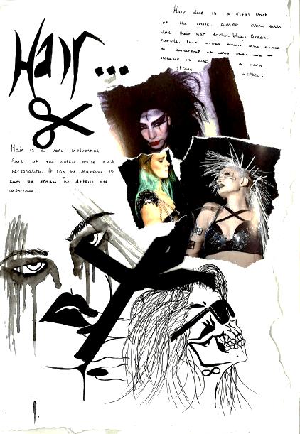 Goth - Hair