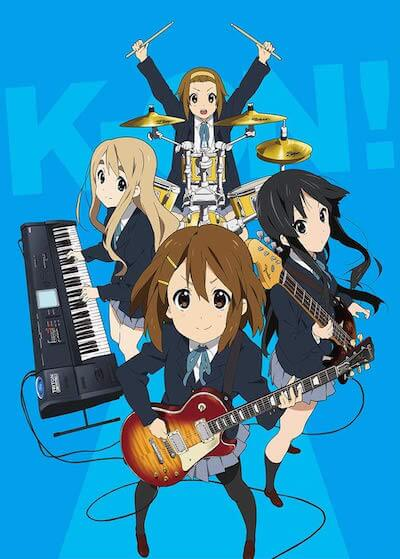 【けいおん】アニメ第1期の再放送が4月よりスタート!軽音部の青春を描く