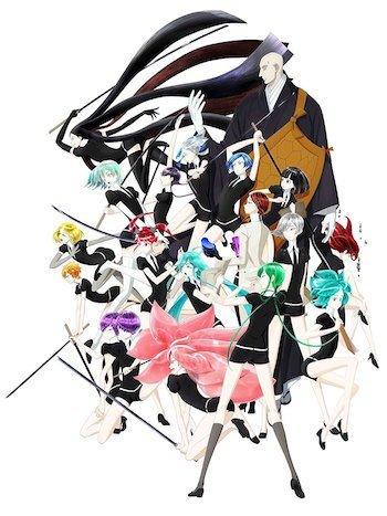【宝石の国】アニメ全話無料配信が実施!!アフタヌーン連載の人気作品
