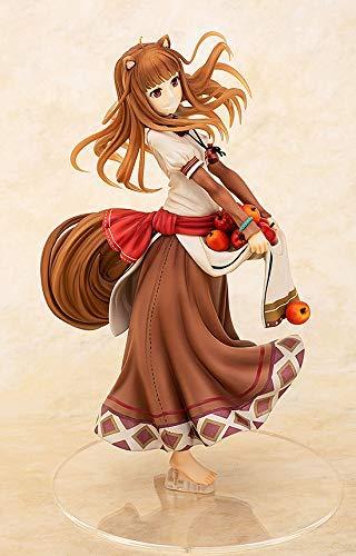 「狼と香辛料」ホロ 豊穣の林檎ver.フィギュアの斜めからの画像