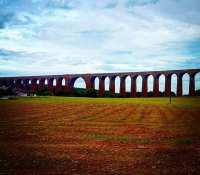 Lovely viaduct across the valley as we left the #CairngornsNationalPark and decended down into Inverness today on the #RideTheNorth
