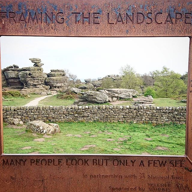 A Day Off Yesterday Meant A Trip Out To Brimham Rocks For