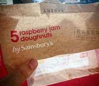 Ultimate post ride recovery food !!! #doughnuts #raspberrydoughnuts