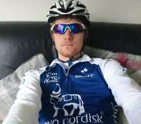 """Dear @TeamNovoNordisk & @NovoNordisk As a type one diabetic and avid cyclist I'm understandably and somewhat predictably a hug fan of #TeamNovoNordisk and the work they've done towards #ChangingDiabetes and the perception of diabetica and their ability to both participate and be competitive in sport and particularly cycling.As you can see I'm the proud owner of the #TNN 2017 kit and also the 2017 development kit.When I'm on the bike these days I often get the horn blasted at me, hand gestures thrown at me and people shouting at me as I cycle past them. For most cyclist this is negative attention but for myself wearing the #TNN kit brings friendly toots, waving and thumbs up and the words people are shouting include things like """"great kit"""" and """"keep at it"""" """"you're nearly at the top"""" . It fills me with confidence in my own ability and pride in knowing I'm wearing a brand people know and recognise for doing a good thingToday I've gone to look at the new 2018 kits and priced up all 11 items of cycling clothing to buy. To my horror the total price comes to €569.20Now as a type one on all #NovoNordisk insulins I'm not naive and recognise that pharmaceutical companies are their to make a profit. However when I see that NovoNordisk profits exceeded 49billion BKK last year (over £5.4 billion USD) I can't help but feel the company could be doing more to make those kits more accessible for aspiring athletes like myself. From a business perspective I feel that if you were to reduce the costs of the kits then more people could ride in them, and help change the view of the potential of diabetics, and importantly grow even more confidence in the brand and thus increasing the number of users of your products.I want nothing more than to be riding in the new 2018 kit which is far better suited to the UKswet muddy roads and weather. Ideally I'd be riding every day on the road and MTB in the new kit but I just can't afford it at its current price point, which is an issue I hope you'll """