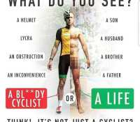 Powerful messageDrivers please be more aware and thoughtful on the roads. I'm a driver too and even I sometimes get a little too close for comfort.As a cyclist we regularly have to swerve for obstacles in the road so be mindful were not as predictable as a cars movements. Every inch matters #cycling #roadsafety #drivers #givecyclistsspace