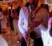 Mr @lauriecovell doing his shizzle on #Sax last night rocking the room as part of our #SaxDJ package.Checkout jonnyrossmusic.com for more info and other music ideas for your event.#saxophone #lovelylaura #laurasax #calvinharris #dualipa #onekiss #music #wedding #disco #party #dancing #dancefloor #bride #groom #mrandmrs #dj #subduce #djsubduce #djhenry