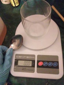 Weighing the Lye