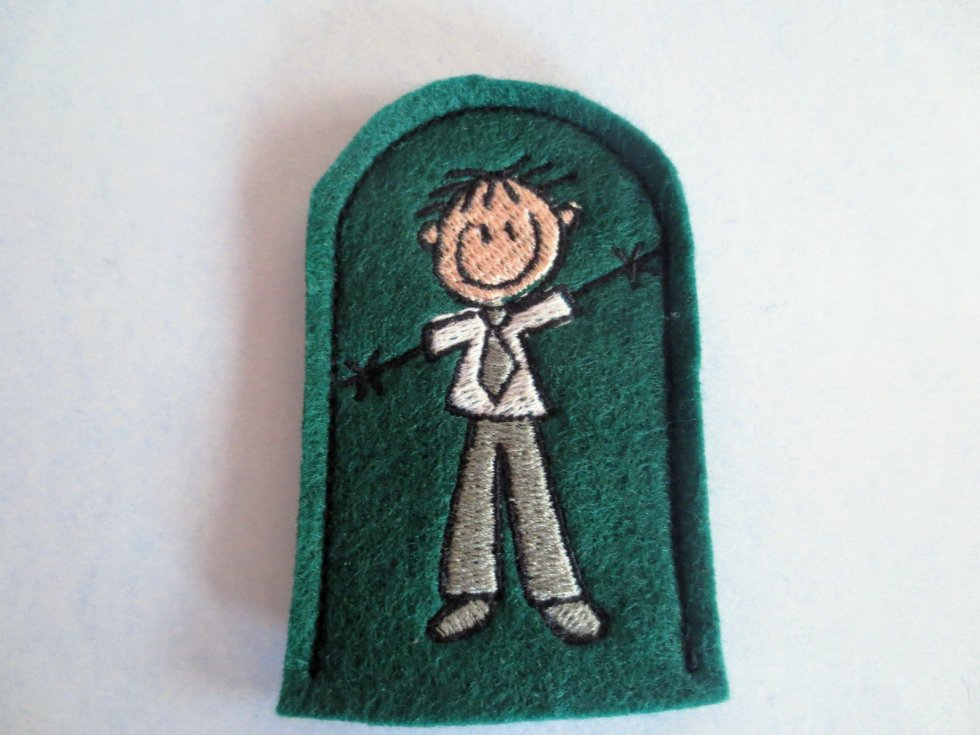 Father Finger Puppet