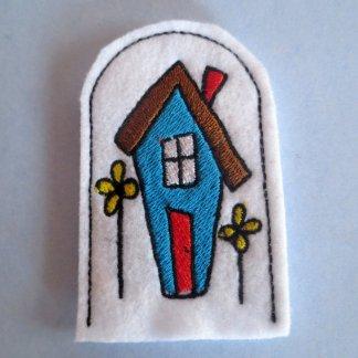 House finger puppet