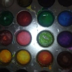 Homemade watercolor paintss