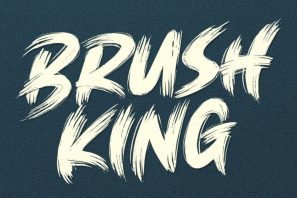 Brush King - Brush Font