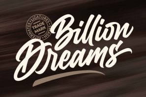 Billion Dreams - Urban Font
