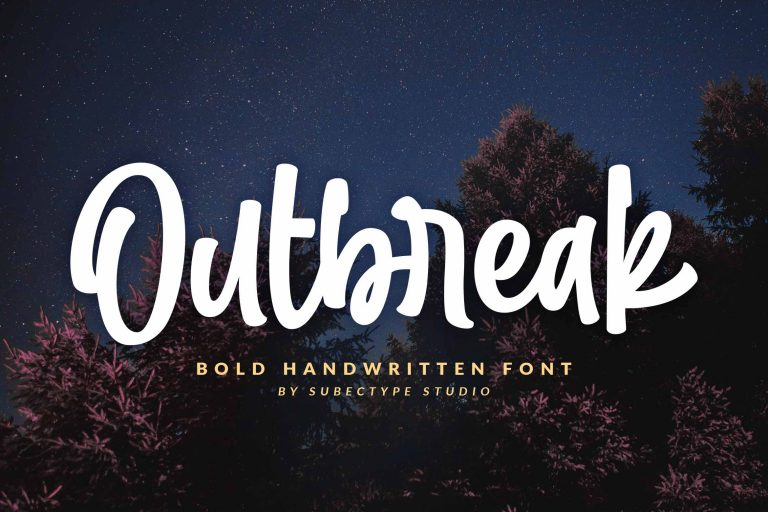 Preview image of Outbreak – Urban Display Font