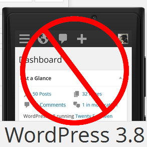 Stop Responsiveness WordPress 3.8