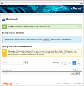 cPanel-Mod-Security-Subharanjan