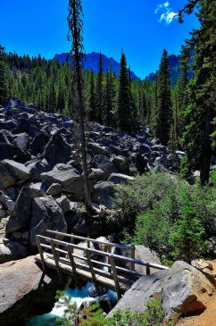 Bridge & boulders