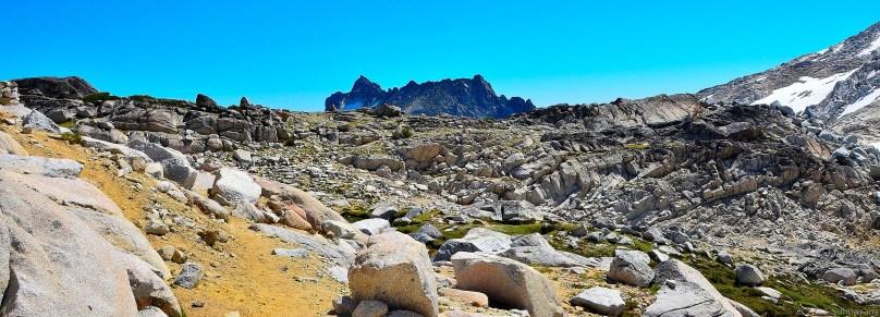 McClellan Peak from upper Enchantments