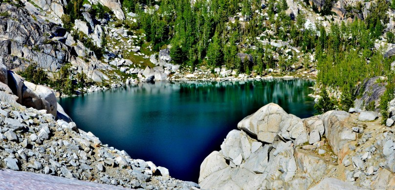 Inspiration Lake - from edge of upper Enchantments.