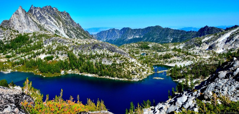 Perfection Lake (7200 feet) in lower Enchantments