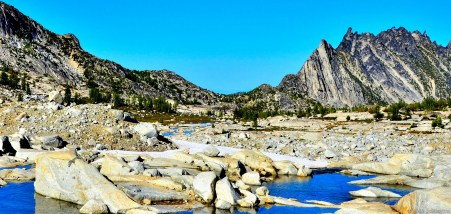 Prusik Peak and upper Enchantments