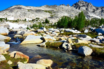 Stream on upper Enchantments