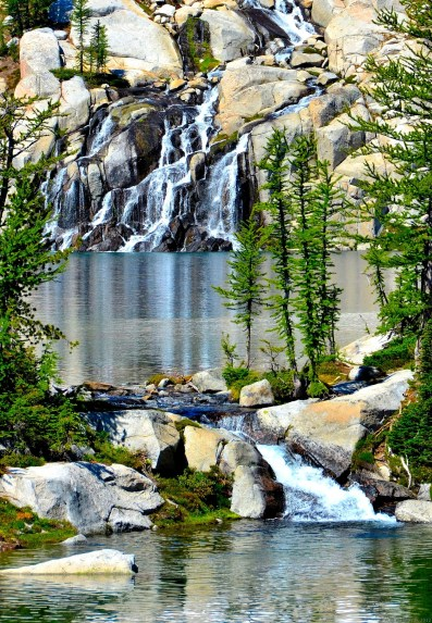 Falls from upper to lower Enchantments