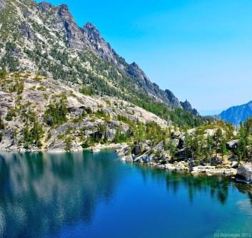 Lake Viviane and end of Enchantments