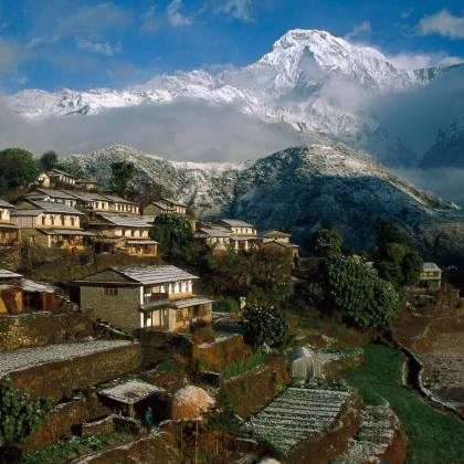 Ghandruk Valley