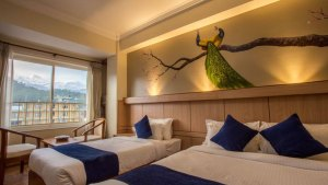 Twin Bedroom-Hotel White Pearl