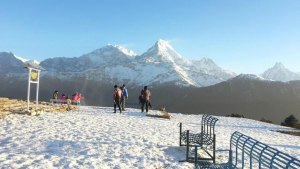 Poon Hill during Winter