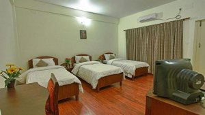 Triple bed Room-Hotel Crown Himalayas